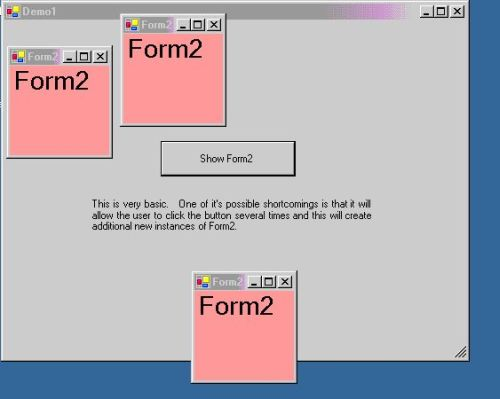 Multiple Forms in VB NET  Part 1